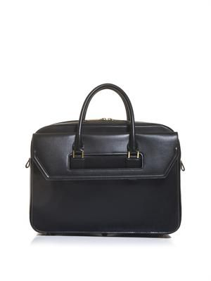 Heroic leather briefcase bag