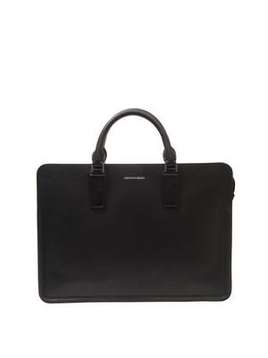 Heroic leather briefcase