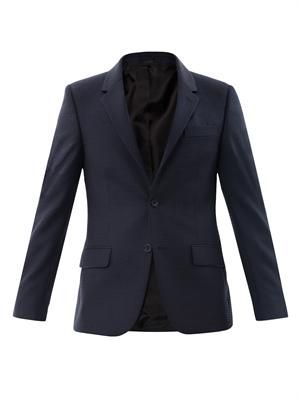 Fancy pindot suit jacket