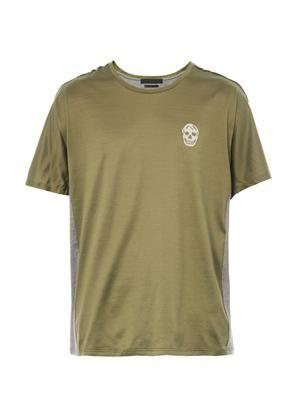 Bi-colour cotton T-shirt