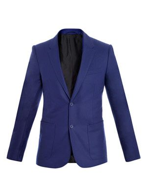 Felted wool blazer