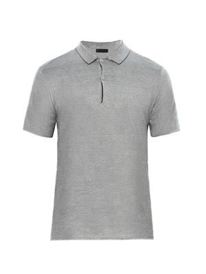 Reversible polo shirt