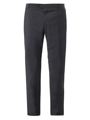 Slim-leg tailored trousers