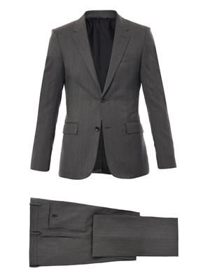 Fantasia wool two button suit