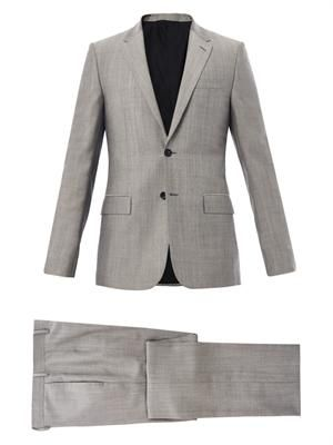 Wool and mohair-blend suit