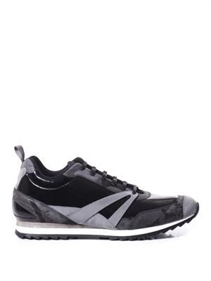 The Runner patent-leather trainers