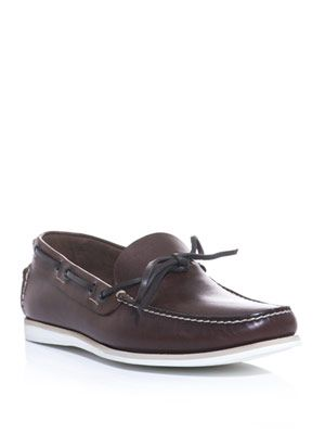 Solid sole loafers