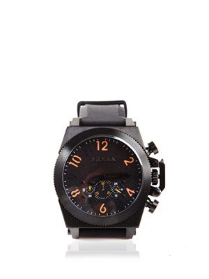 Militare black dial watch
