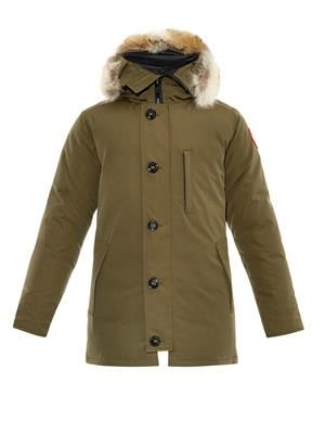 Chateau fur-trimmed down parka
