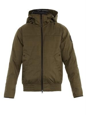 Rossland down bomber jacket
