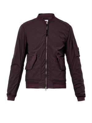 Watch Viewer MA-1 bomber jacket
