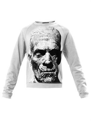 The Mummy-print sweatshirt