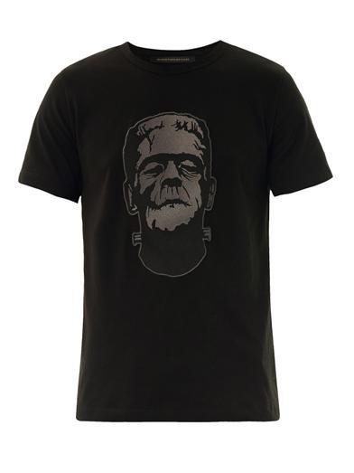 Christopher Kane Frankenstein patch T-shirt