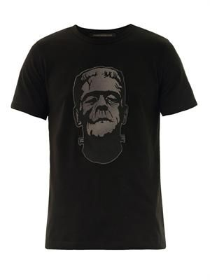 Frankenstein patch T-shirt