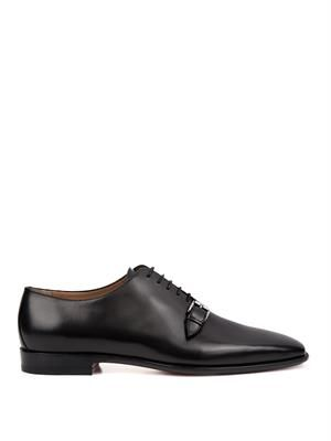 Capri leather derby shoes
