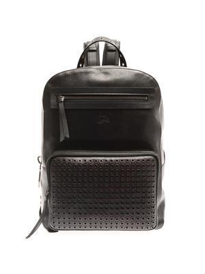 Aliosha leather backpack