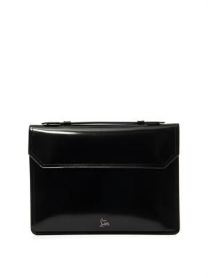 Alexis leather briefcase