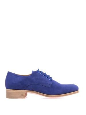 Chorale suede derby shoes