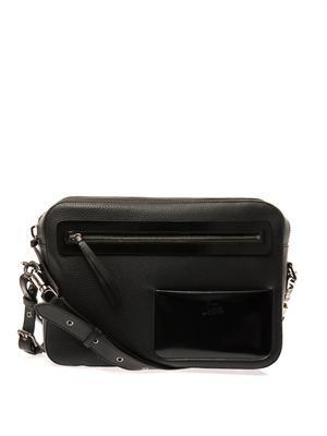 Aliosha leather messenger bag