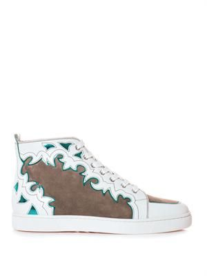 Arizona leather and suede trainers