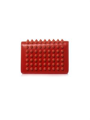 Milos leather card holder