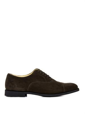 Edgware suede oxford shoes