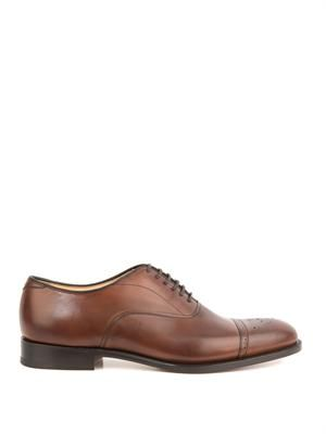 Lapworth leather oxford brogues