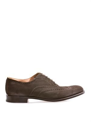 New York leather brogues