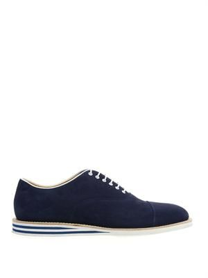 Hirst suede derby shoes