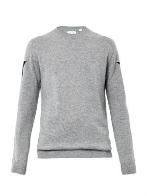 Star-intarsia cashmere sweater