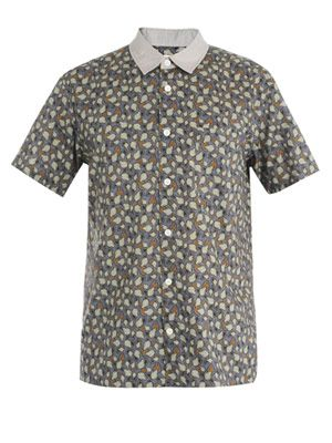 Papaya print shirt
