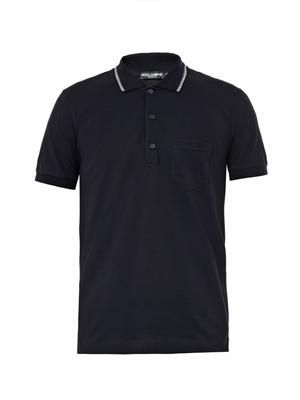 Chest-pocket polo shirt
