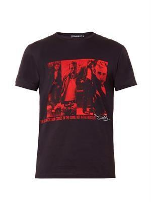 James Dean-print T-shirt