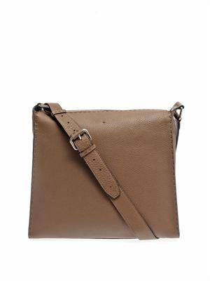 Selleria leather messenger bag