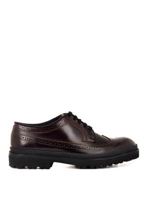 MARNI Leather brogues