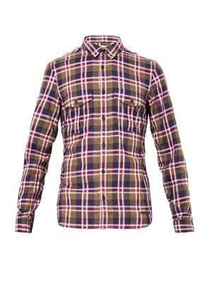 Reynolds checked shirt