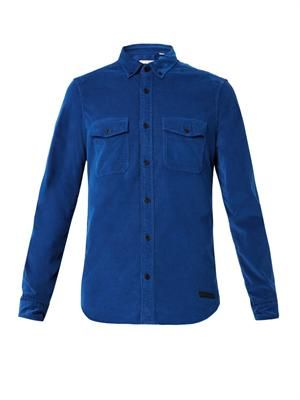 Ebberson corduroy shirt
