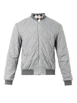 Maxson quilted bomber jacket