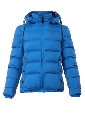 Basford quilted down jacket