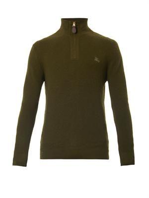 Lapworth funnel-neck sweater