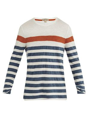 Jeremiah striped sweatshirt