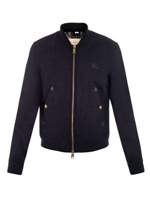 Harfield boiled-wool jacket