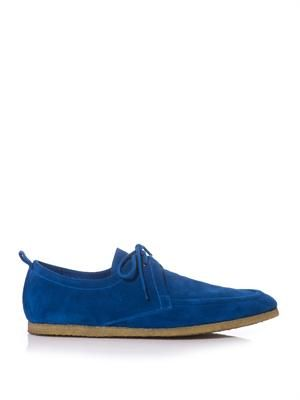 Tobias suede shoes