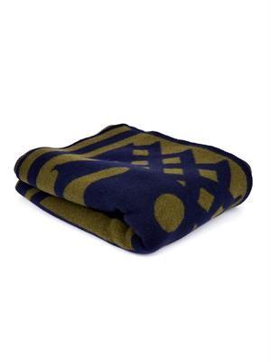 Graphic-motif blanket