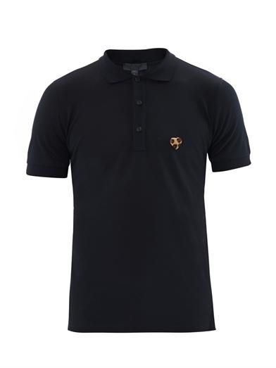 WISHLIST | Burberry Prorsum Ponyskin heart badge polo top
