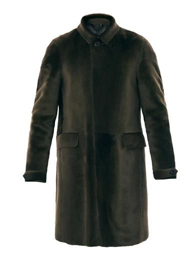WISHLIST | Burberry Prorsum Shaved shearling coat