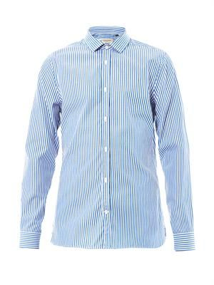 Halesbury stripe shirt