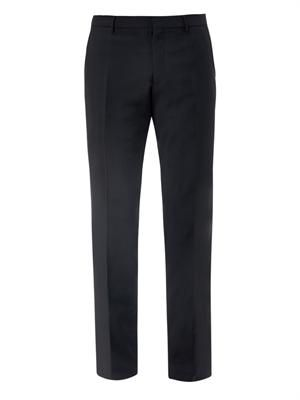Stirling wool and mohair-blend trousers