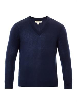 Cawour cashmere fine-knit sweater