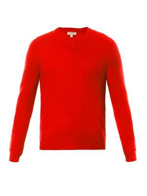 Cawour cashmere V-neck sweater